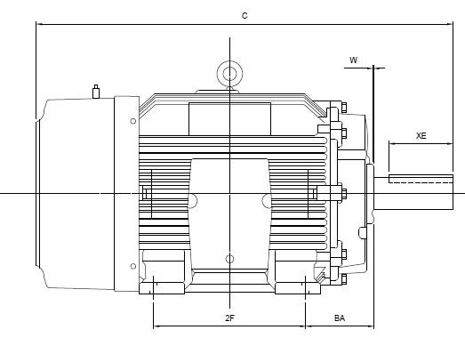 Understanding Three Phase AC Motors Part 3: NEMA Frame Sizes and ...